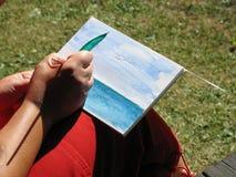 Watercolour che vernicia 3 Fotografie Stock Libere da Diritti