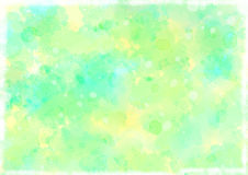 Watercolour Cyan and Lemon Textured Background vector illustration
