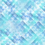 Watercolour geometric pattern Stock Photo