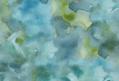 Watercolour paint background royalty free illustration