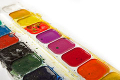 Watercolour Palette Royalty Free Stock Photos