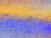 Watercolour Paper Wash. A digitally created watercolour wash paper texture stock photos