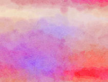 Watercolour Paper Wash. A digitally created watercolour wash paper texture stock photo