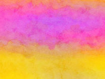 Watercolour Paper Wash. A digitally created watercolour wash paper texture stock photography