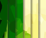 Watercolour pattern - Set of dark green patterns. Set of dark green polygonal patterns in the Watercolour pattern collection Stock Images