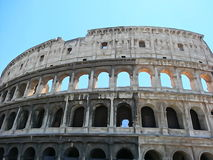 A Watercolour photo of the Colosseum in Rome. The Colosseum in Rome, Italy taken as a watercolor photo Royalty Free Stock Image