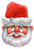 Watercolour  santa claus Royalty Free Stock Photography