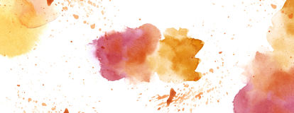 Watercolour with splash spot background white copy space royalty free illustration
