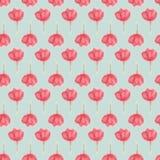 Watercolour spring flower, blur floral seamless stock illustration