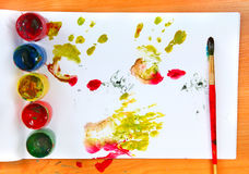 Watercolour Stain Royalty Free Stock Photo
