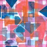 Watercolour stripe background. stock illustration