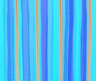 Watercolour stripes Royalty Free Stock Images