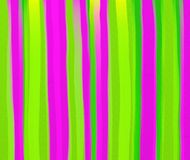 Watercolour stripes Stock Photography