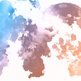 Watercolour texture background. Abstract background with a detailed watercolour texture vector illustration