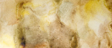Watercolour textured Stock Photography