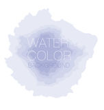 Watercolourachtergrond, vectorachtergrond, Royalty-vrije Stock Foto's