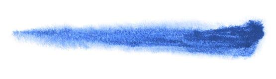 Watercolourbürstenanschlag Stockfoto