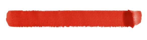 Watercolourbürstenanschlag Lizenzfreie Stockfotos