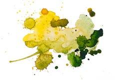 Watercolourflecken Stockfotos