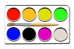 Watercolours Royalty Free Stock Photos