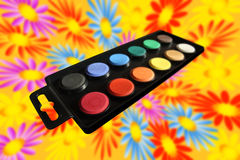 Watercolours Royalty Free Stock Image