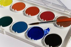 Watercolours Stock Photography