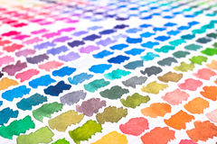 Watercolours as pattern blurred Stock Photos