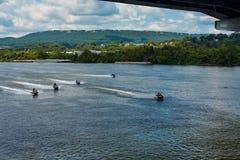 Watercraft de alta velocidad Fotografía de archivo