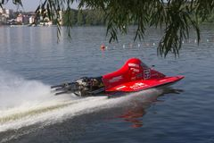 Watercraft F500 in action Royalty Free Stock Photo