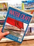 WaterCraft magazyn w ręce obrazy stock
