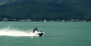 Watercraft police Stock Photography