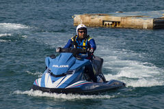 Watercraft polizia Stock Photo