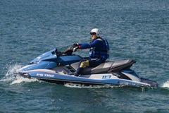 Watercraft polizia Royalty Free Stock Photo