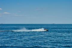 Watercraft on the sea Stock Photo