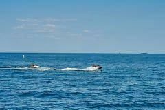Watercraft on the sea Royalty Free Stock Photo