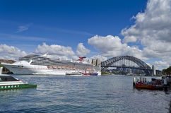 Watercraft on Sydney Harbour Stock Images
