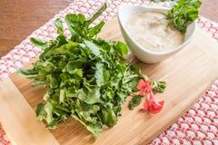 Watercress Appetizer Stock Photos