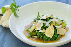 Watercress Bok Choy Salad Royalty Free Stock Photo