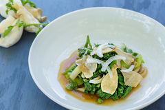 Watercress Bok Choy Salad Stock Photos