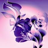watercrest kwiecisty royalty ilustracja