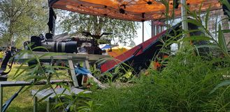 Watercross Laufen lizenzfreie stockfotografie