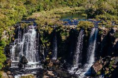 Waterdaling en Canion - Nationaal Park Royalty-vrije Stock Afbeelding