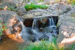 Waterdalingen Royalty-vrije Stock Foto's
