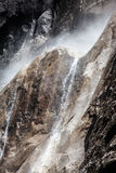 Waterdalingen van Yosemite stock foto's