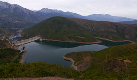 Free Waterdam - Fierze - Albania Royalty Free Stock Image - 16168316