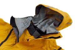 Waterdicht in te ademen het paddelen jasje met kap Royalty-vrije Stock Afbeeldingen