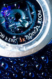 Waterdichte camera Stock Foto