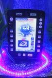 Waterdichte mobiele computer royalty-vrije stock afbeelding