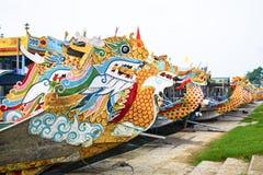 Waterdraken van Huong-Rivier, Tint, Vietnam stock afbeelding