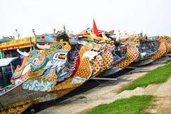 Waterdraken van Huong-Rivier, Tint, Vietnam royalty-vrije stock foto's